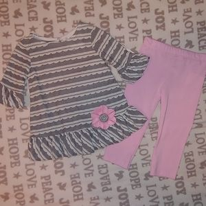 NEW Girls size 12Month outfit
